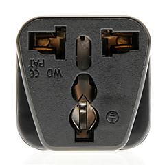 Universal Travel AC Plug Power Adapter (fekete, Plug)
