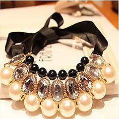 Γυναικεία Κολιέ Δήλωση Coliere cu Perle Κοσμήματα Μαργαριτάρι Γιορτές/Διακοπές Νυφικό Κοσμήματα Για Γάμου Ειδική Περίσταση Γενέθλια
