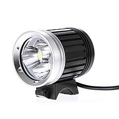 Kafa Lambaları Bisiklet Işıkları Bisiklet Ön Işığı LED Cree XM-L T6 Bisiklet Su Geçirmez 18650 2400 Lümen Pil AC Şarj Aleti