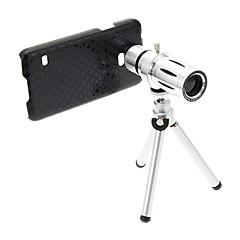 Zoom 12X tele Metal Fax objektiivi Jalusta Samsung S5