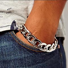 체인 & 링크 팔찌 유니크 디자인 패션 의상 보석 합금 보석류 보석류 제품 파티 일상 캐쥬얼 크리스마스 선물