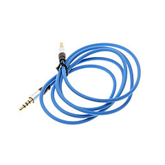 Erkek Kablosu 1.2M 4ft Yardımcı Aux Ses Kablosu 3.5mm Jack Erkek