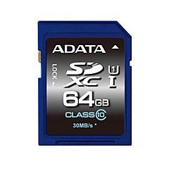 ADATA 64Gt SD kortti muistikortti UHS-I U1 Class10