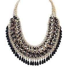 Damskie Oświadczenie Naszyjniki Naszyjniki Śliniaki Biżuteria Stop Modny Europejski biżuteria kostiumowa Biżuteria Na Impreza Specjalne
