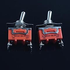 kapcsoló (láb második fokozatban) 15a 250VAC (2db)