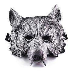 Αποκριάτικες Μάσκες Μάσκες Καρναβαλιού Κεφάλι λύκου Θέμα φρίκης Κοριτσίστικα Αγορίστικα 1