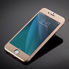 mode luxe titanium legering gehard glas volledige dekking screen protector voor iPhone 6s plus / 6 plus