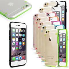 Mert iPhone 6 tok / iPhone 6 Plus tok LED zseblámpa / Ultra-vékeny / Átlátszó Case Hátlap Case Egyszínű Kemény PCiPhone 7 Plus / iPhone 7