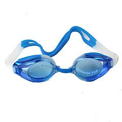 Úszás Goggles Uniszex Vízálló / Állítható méret Műanyag Műanyag Sötétkék Átlátszó