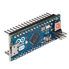 arduino leonardo mini atmega32u4 resmi sürümü (beyaz tahta zemin)