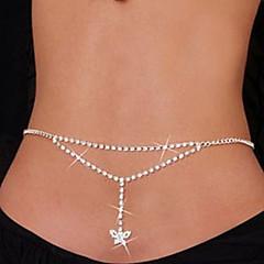 Dame Bijuterii de corp Lanț de Talie Corp lanț / burtă lanț costum de bijuterii Ștras Bijuterii Pentru Zilnic Casual Cadouri de Crăciun