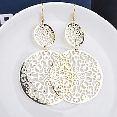 Mulheres Brincos Compridos Bijuterias Destaque Personalizado Europeu bijuterias Liga Formato de Folha Jóias Para Casamento Festa Ocasião