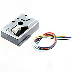 audino / Ahududu pi için keskin gp2y1010au0f diy PM2.5 toz sensörü gp2y1010f