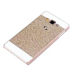 Mert Samsung Galaxy tok Galvanizálás Case Hátlap Case Csillámpor PC Samsung A3