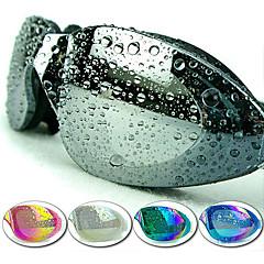 Made In China Úszás Goggles Női / Men's / Uniszex Páramentesítő / Vízálló / Állítható méret / UV-védő Műanyag AkrilRózsaszín / Fekete /