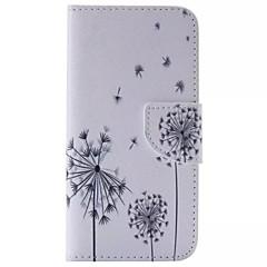 Για Samsung Galaxy Θήκη Πορτοφόλι / Θήκη καρτών / με βάση στήριξης / Ανοιγόμενη tok Πλήρης κάλυψη tok Ραδίκι Συνθετικό δέρμα SamsungS6
