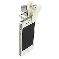 Yüksek kaliteli su geçirmez 60 kez cep telefonu mikroskop ve ekran büyüteci / takı değerleme / ultraviyole ışık