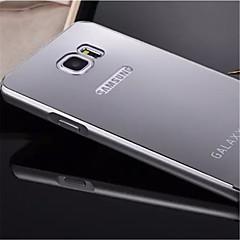 Varten Samsung Galaxy Note Pinnoitus / Peili Etui Takakuori Etui Yksivärinen Metalli Samsung Note 5 Edge / Note 5 / Note 4 / Note 3