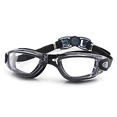 FEIUPE Úszás Goggles Női / Men's / Uniszex Páramentesítő / Vízálló / Állítható méret / UV-védő Szilícium-dioxid gél PCFekete / Fehér /