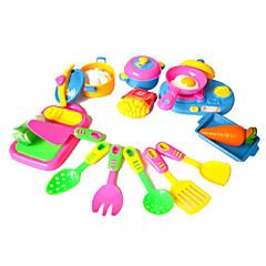 11 erilaista ruokaa teeskennellä leikkiä lelut DIY lelut asetettu