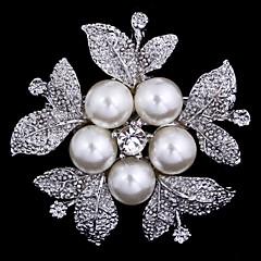 λουλούδι καρφίτσα γυναικών για διακόσμηση γαμήλιο γλέντι κασκόλ, κοσμήματα, τυχαίο χρώμα