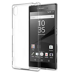 transparent ultra-tynde TPU blød ryg Taske til Sony Xperia Z5 / z4 / z3 / z2 / z3mini / z5mini / t3 / m2 / m4 / e3 / e4 / e4g / c4