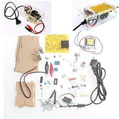 με τη λιανική κουτί DIY Kit LM317 ρυθμιζόμενο ρυθμισμένη τάση υποβιβασμού τροφοδοτικό μονάδα σουίτα δωρεάν αποστολή