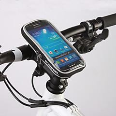 ROSWHEEL Τσάντα ποδηλάτουΤσάντα για τιμόνι ποδηλάτου Αδιάβροχο Φερμουάρ Υδατοστεγανό Αντικραδασμικό Φοριέται Τσάντα ποδηλάτου PVC Τερυλίνη