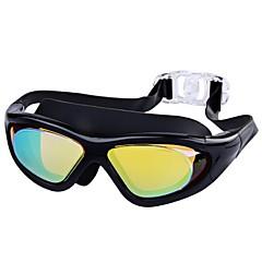 Úszás Goggles Páramentesítő Törhetetlen Vízálló Ipari gyanta PC Sötét arany Piros Fekete Kék N/A