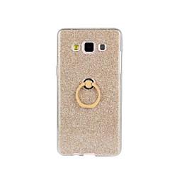 Mert Samsung Galaxy tok Ütésálló / Állvánnyal Case Hátlap Case Csillámpor Puha TPU Samsung A8 / A7 / A5 / A3