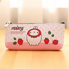 토끼 섬유 만화 문구 가방