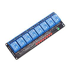 8 kanałowy moduł przekaźnikowy 5V dla Arduino