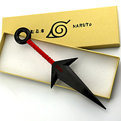 Silah / Kılıç Esinlenen Naruto Naruto Uzumaki Anime Cosplay Aksesuarları Silah Beyaz / Kırmızı PVC Erkek
