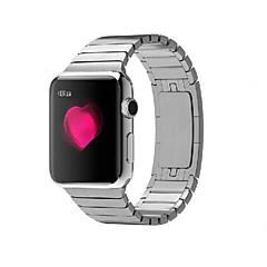 Watch Band for apple watch 38mm bracelete de aço inoxidável 42mm pulseira de borboleta com conector