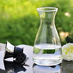 kapaklı 1400 mL cam filtre demlik soğuk su şişeleri cezve