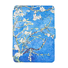Para novo kindle leitor smart ebook casos colorido pintado couro caso flip cobrir multocolor