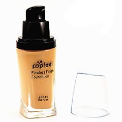 6 Foundation Nat KakiVochtigheid / Zonbescherming / Bedekking / Witter Maken / Olie-regulering / Langdurig / Concealer / Waterbestendig /