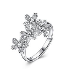 Ringe Sexy / Mode Bryllup / Party / Daglig / Afslappet Smykker Sølv Dame Statement Ringe 1pc,Justerbar Sølv
