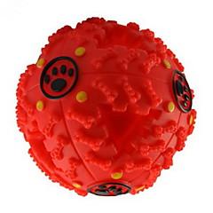 Zabawka dla kota Zabawka dla psa Zabawki dla zwierząt Owalne Pisk Dozownik karmy Gumowy