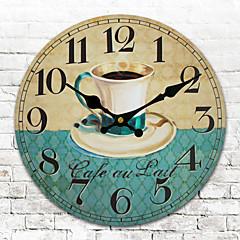 현대/현대 기타 벽 시계,라운드 기타 30*30cm*3cm 실내 시계