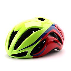 Full-Face / Berg / Weg / Sporten-Fietsen / Bergracen / Wegwielrennen / Recreatiewielrennen-Helm(Groen / Rood / Zwart / Blauw,PC / EPS) -