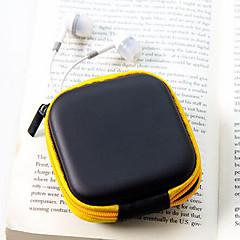 여행 가죽 소재 헤드폰 지갑 (임의의 색상)을 변경