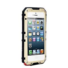 Til iPhone 8 iPhone 8 Plus iPhone 7 iPhone 6 iPhone 5 etui Etuier Vand / Dirt / Shock Proof Heldækkende Etui Helfarve Hårdt Metal for