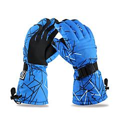 Ski Kesztyűk Téli kesztyűk Férfi Szabadidős/Sport kesztyűk Melegen tartani / Csúszásgátló / Vízálló / HóbiztosSíelés / Kempingezés és