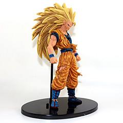 Anime Toimintahahmot Innoittamana Dragon Ball Goku Anime Cosplay-Tarvikkeet kuvio Kulta PVC