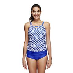 Mulheres Respirável Alta Respirabilidade (>15,001g) Suave Elastano Terylene Fato de Mergulho Manga Curta Roupa de Banho-Natação Mergulho