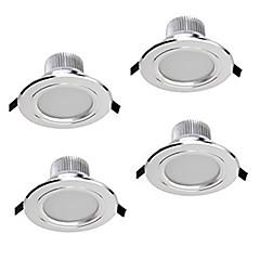 Z®zdm 4 stk 5w 400-450lm dæmpbare led downlights varm hvid / kølig hvid / naturlig hvid ac12v / 110 / 220v
