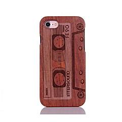 Mert Ütésálló Dombornyomott Minta Case Hátlap Case Rajzfilmfigura Kemény Fa mert AppleiPhone 7 Plus iPhone 7 iPhone 6s Plus/6 Plus iPhone