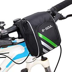 B-SOUL® Τσάντα ποδηλάτουΤσάντα για τιμόνι ποδηλάτου Φοριέται Τσάντα ποδηλάτου Οξφόρδη Τσάντα ποδηλασίας Ποδηλασία 15.5*11*9