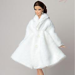 Meer Accessoires Voor Barbiepop Jas Voor voor meisjes Speelgoedpop